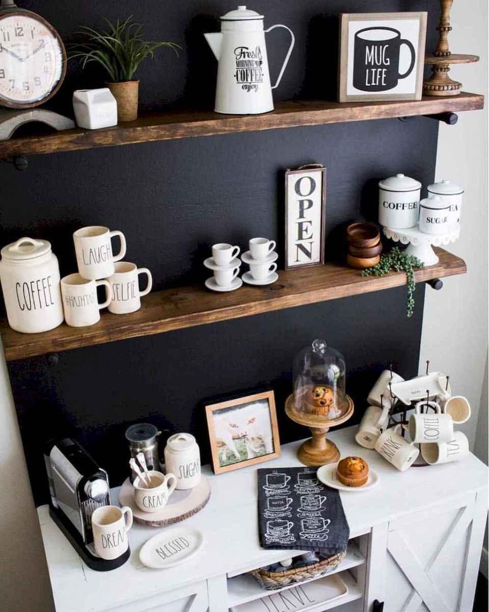 Diy home coffee bar ideas for coffee addict (34)