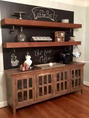 Diy home coffee bar ideas for coffee addict (7)