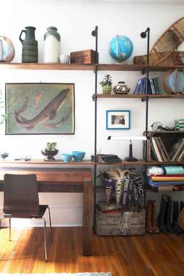 Easy diy pipe shelves ideas on a budget (16)