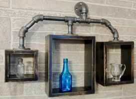 Easy diy pipe shelves ideas on a budget (30)