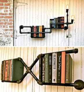 Easy diy pipe shelves ideas on a budget (48)