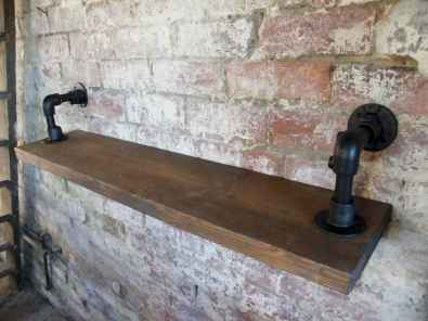 Easy diy pipe shelves ideas on a budget (58)