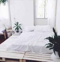 Elegant diy wooden platform bed design ideas (16)