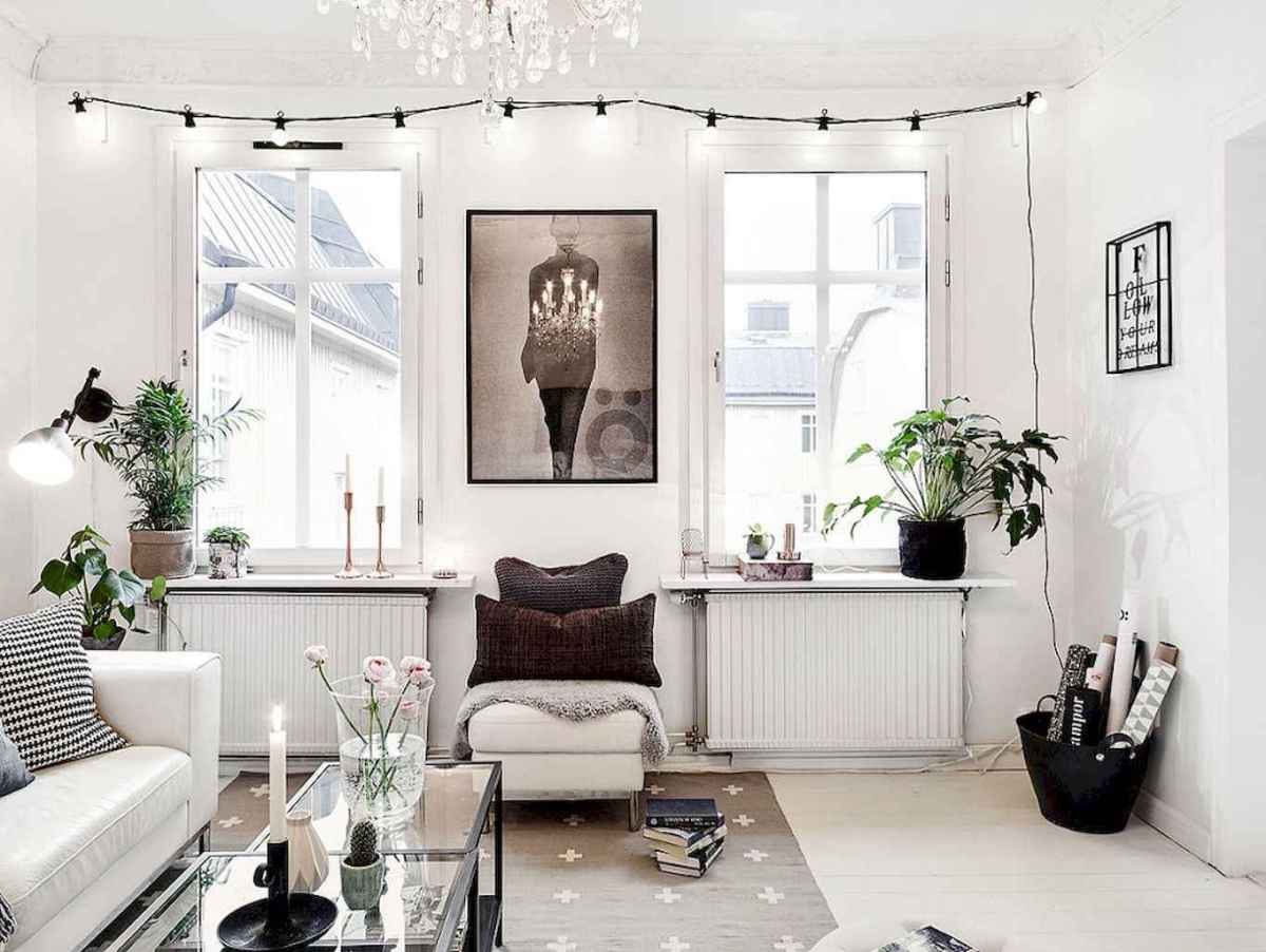 Elegant scandinavian interior decorating ideas for small spaces (11)