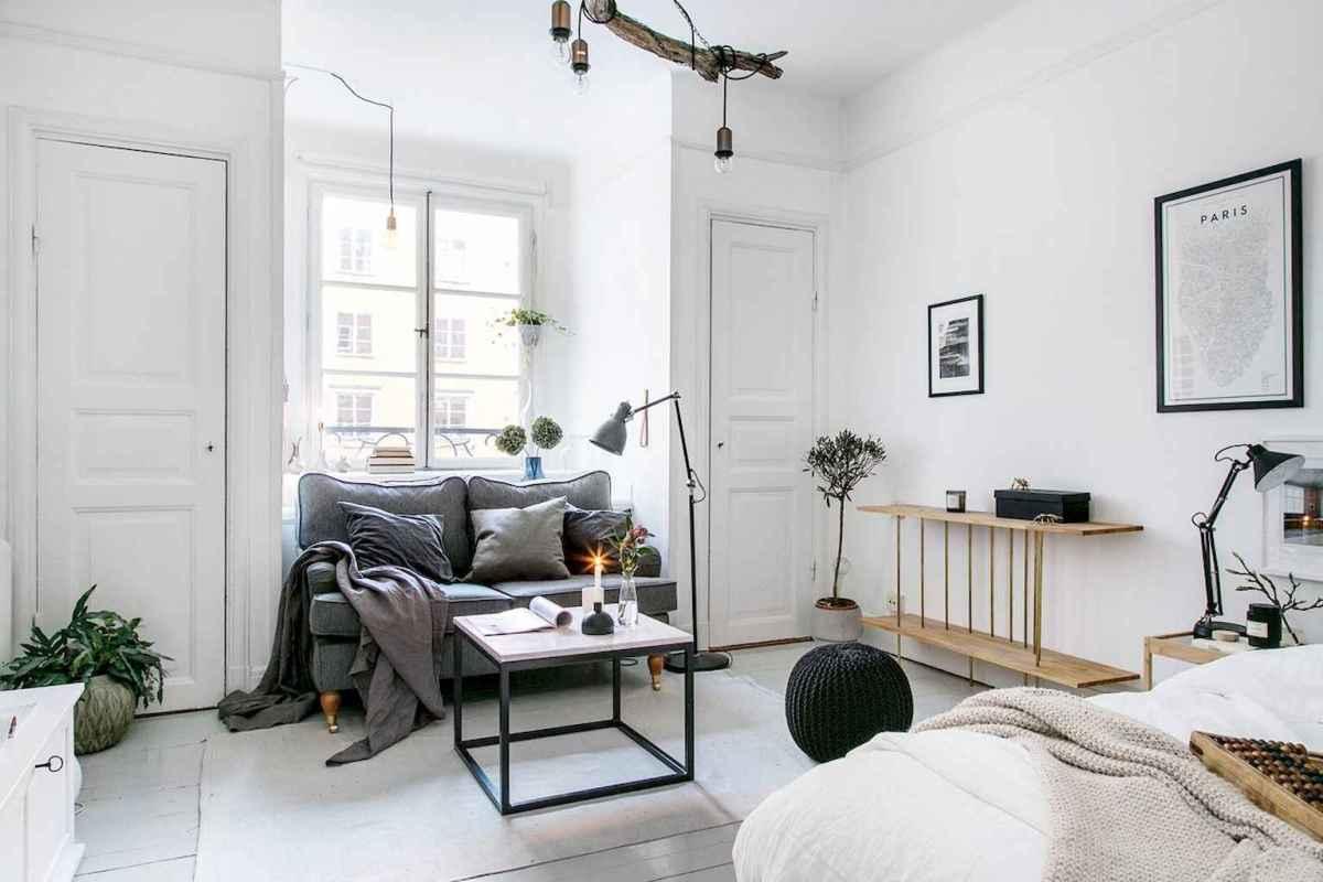 Elegant scandinavian interior decorating ideas for small spaces (13)