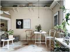 Elegant scandinavian interior decorating ideas for small spaces (30)