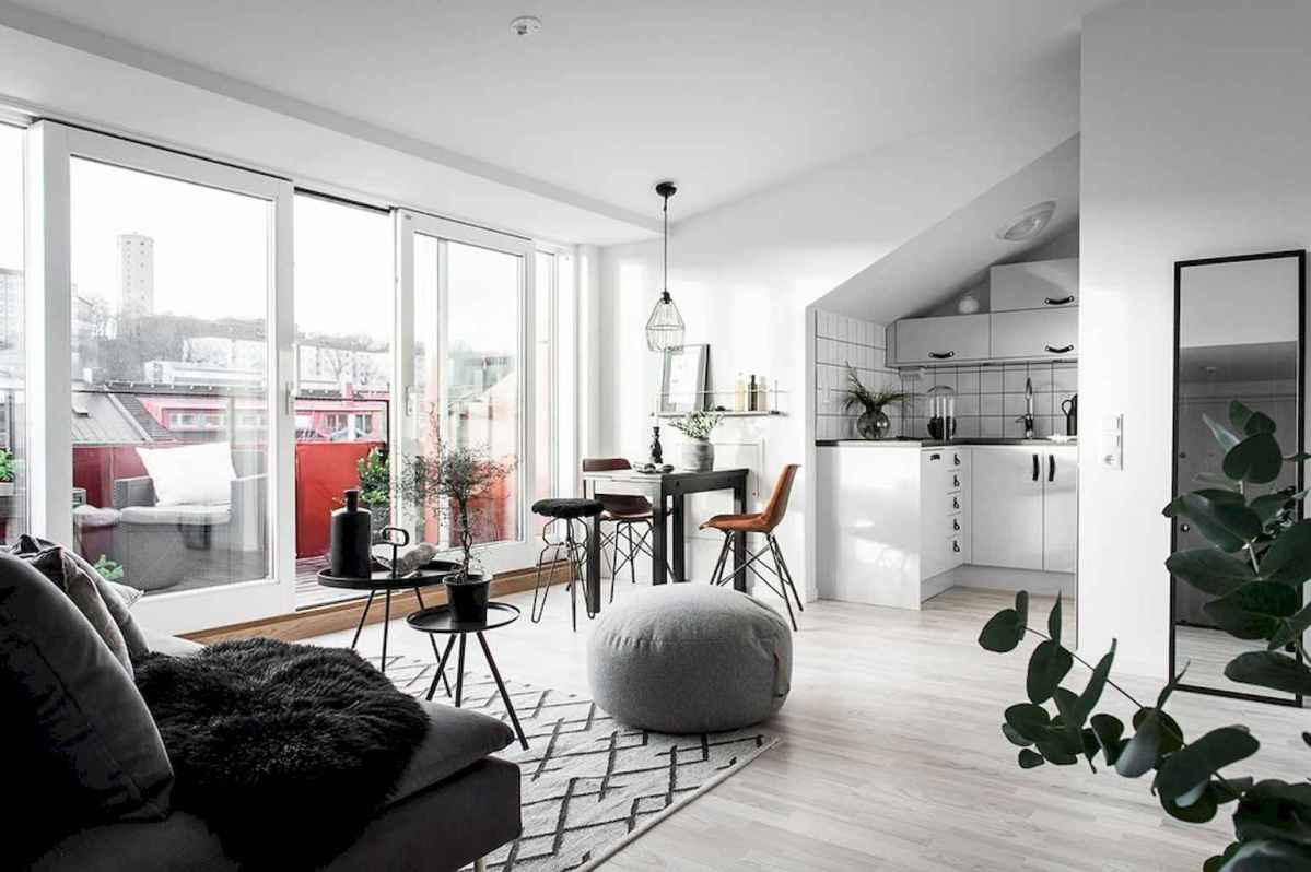 Elegant scandinavian interior decorating ideas for small spaces (32)
