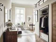 Elegant scandinavian interior decorating ideas for small spaces (42)