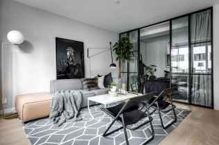 Elegant scandinavian interior decorating ideas for small spaces (47)