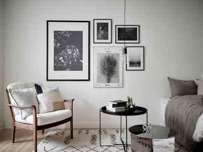Elegant scandinavian interior decorating ideas for small spaces (70)