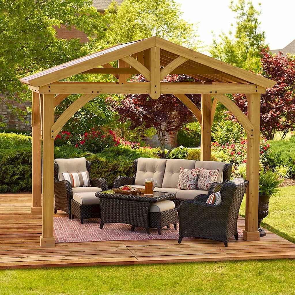Incredible wood backyard pavilion design ideas outdoor (12)