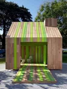 Incredible wood backyard pavilion design ideas outdoor (24)