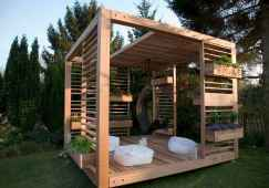Incredible wood backyard pavilion design ideas outdoor (38)