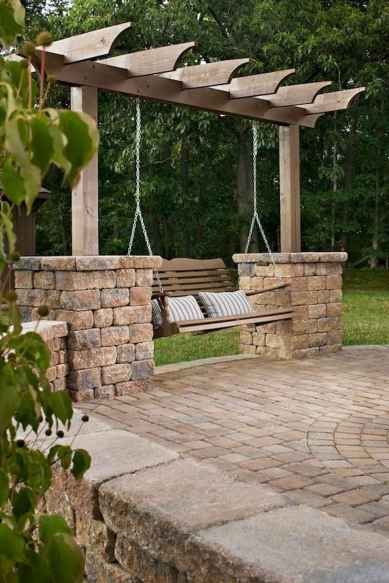 Incredible wood backyard pavilion design ideas outdoor (40)