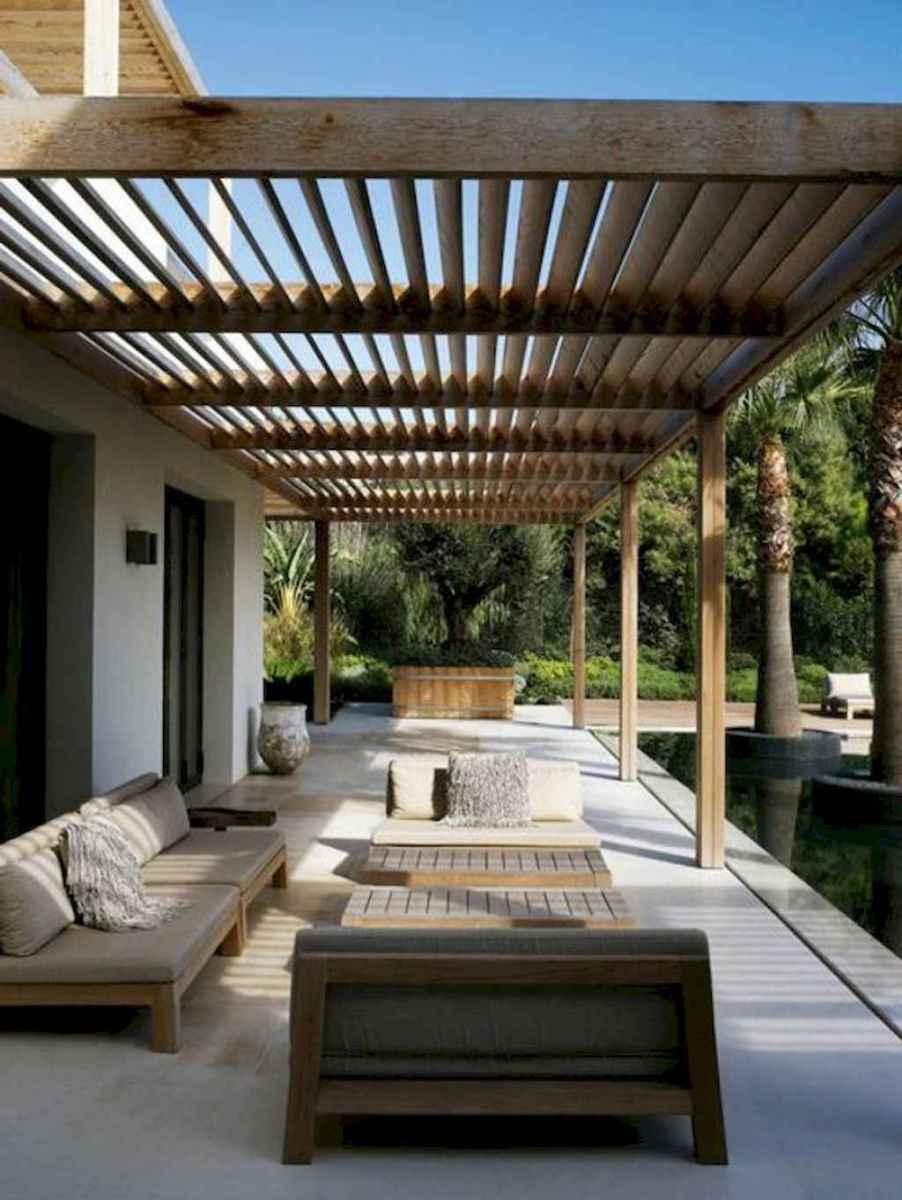 Incredible wood backyard pavilion design ideas outdoor (61)