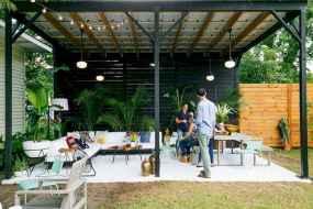 Incredible wood backyard pavilion design ideas outdoor (63)