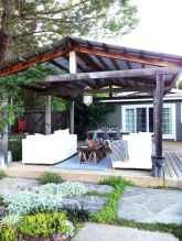 Incredible wood backyard pavilion design ideas outdoor (68)