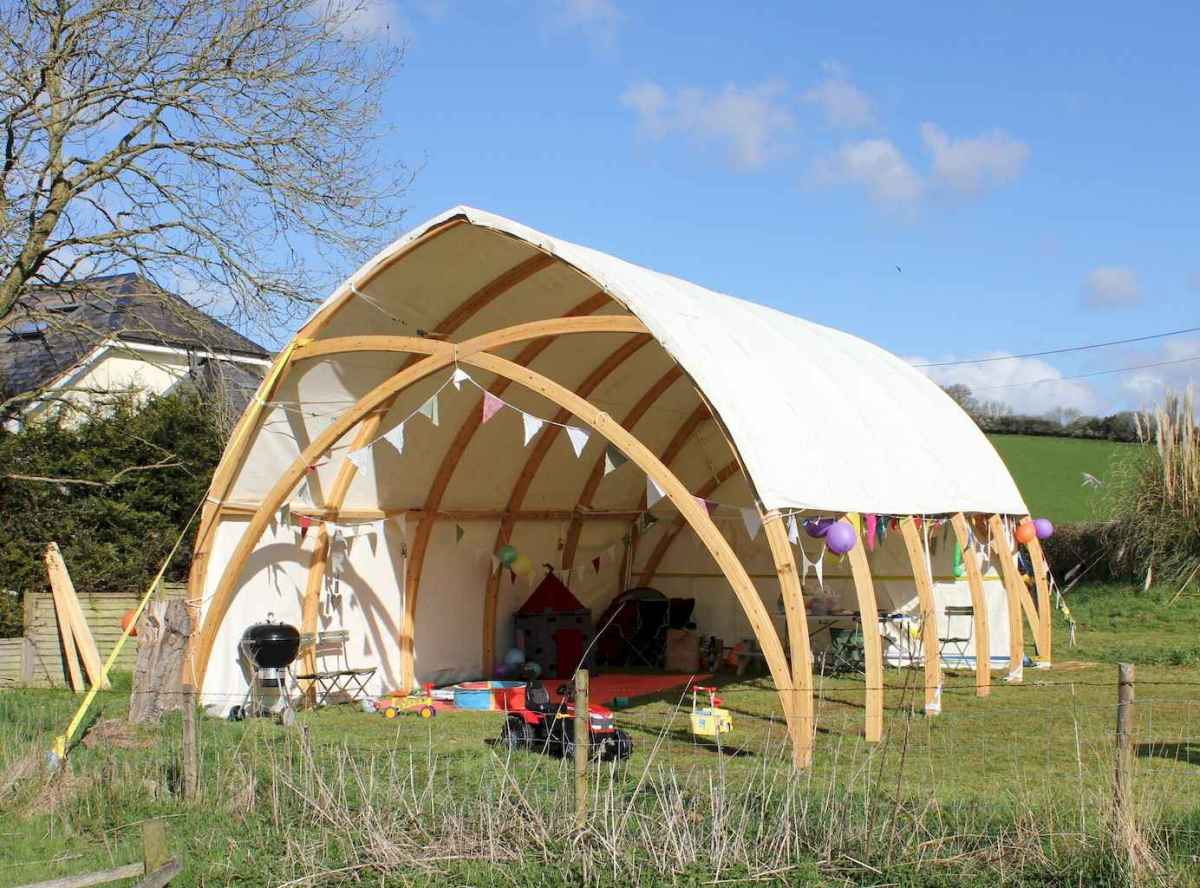 Incredible wood backyard pavilion design ideas outdoor (8)