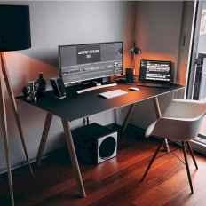 Incredibly computer desk design ideas (26)