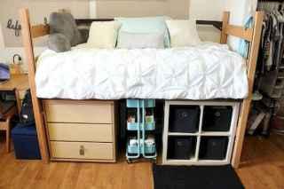 Most efficient dorm room ideas organization (11)