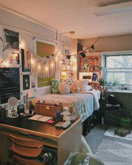Most efficient dorm room ideas organization (39)