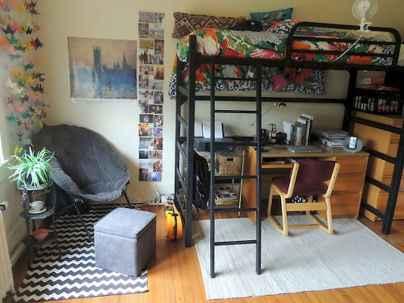 Most efficient dorm room ideas organization (40)