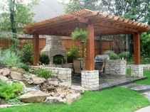 Small patio garden design ideas backyard (24)
