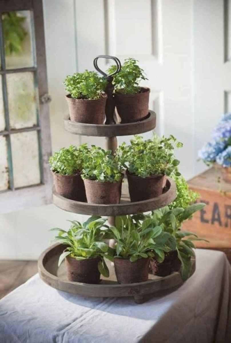 Adorable diy container herb garden design ideas (15)