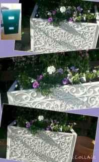 Adorable diy container herb garden design ideas (18)