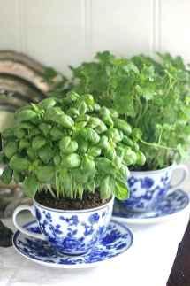 Adorable diy container herb garden design ideas (19)