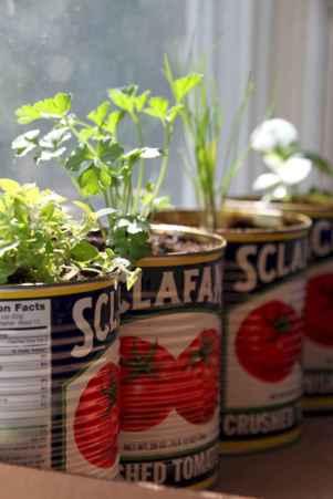 Adorable diy container herb garden design ideas (38)