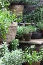 Adorable diy container herb garden design ideas (52)