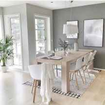 Minimalist dining room decorating ideas (22)