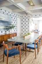 Minimalist dining room decorating ideas (23)