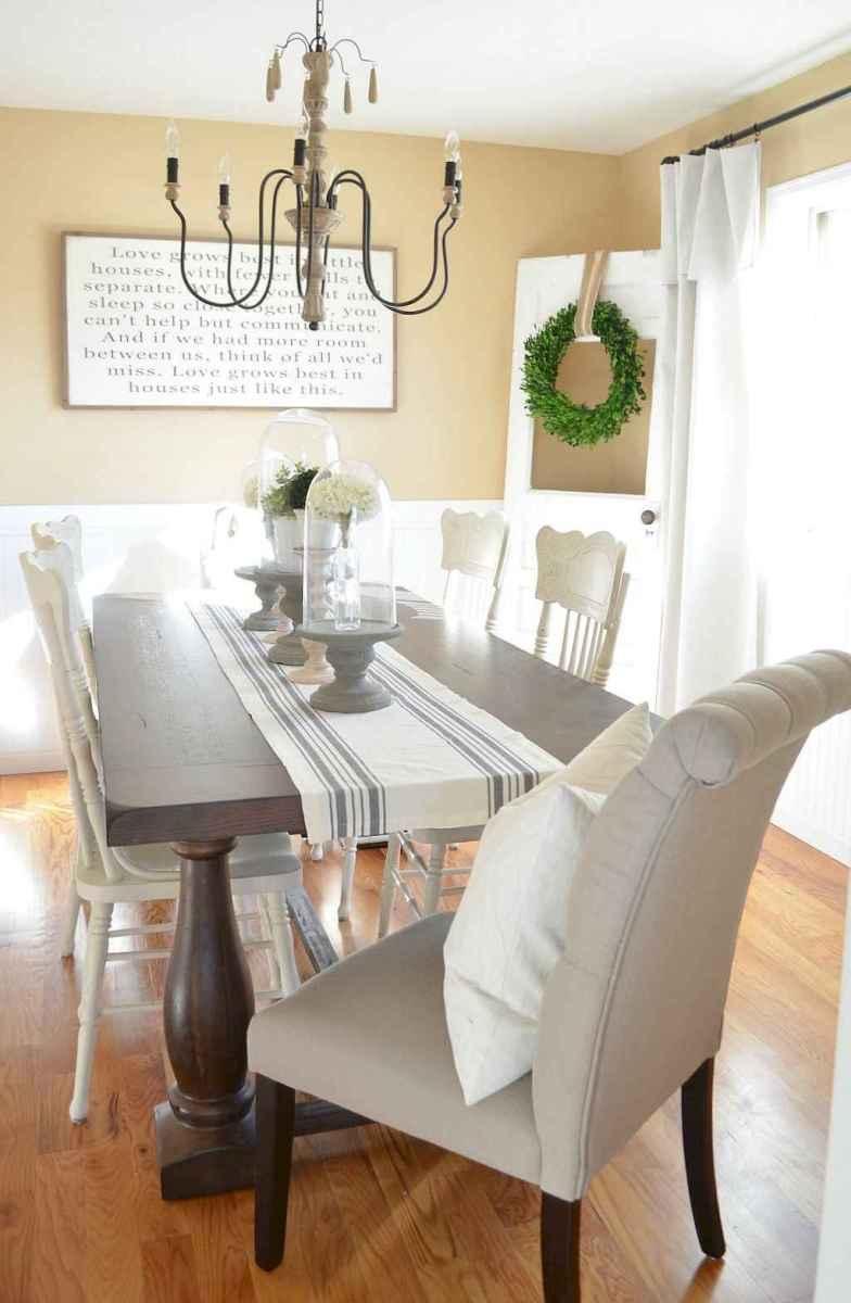 Modern farmhouse dining room decor ideas (33) - Room a Holic