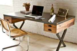 Simple home office decor ideas for men (23)