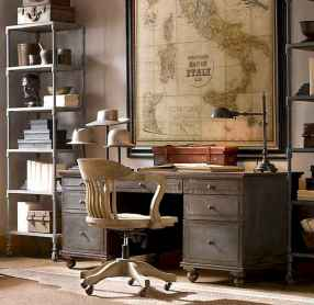 Simple home office decor ideas for men (24)
