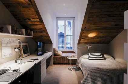 Simple home office decor ideas for men (38)