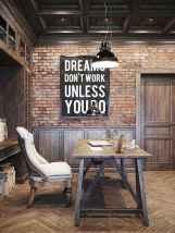 Simple home office decor ideas for men (41)
