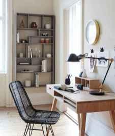 Simple home office decor ideas for men (43)