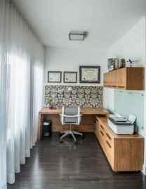 Simple home office decor ideas for men (45)