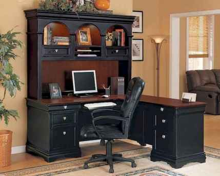 Simple home office decor ideas for men (5)