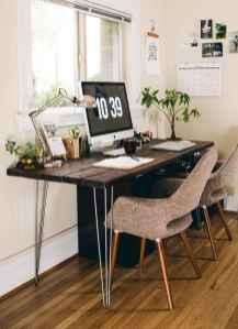 Simple home office decor ideas for men (54)