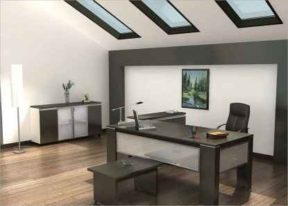 Simple home office decor ideas for men (55)