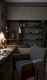 Simple home office decor ideas for men (6)