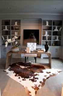 Simple home office decor ideas for men (60)
