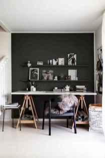 Simple home office decor ideas for men (61)