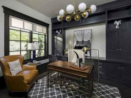 Simple home office decor ideas for men (69)