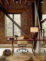 Simple home office decor ideas for men (9)