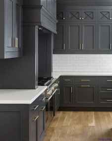 006 luxury black and white kitchen design ideas